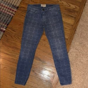 Current Elliott Jeans With Funky Print